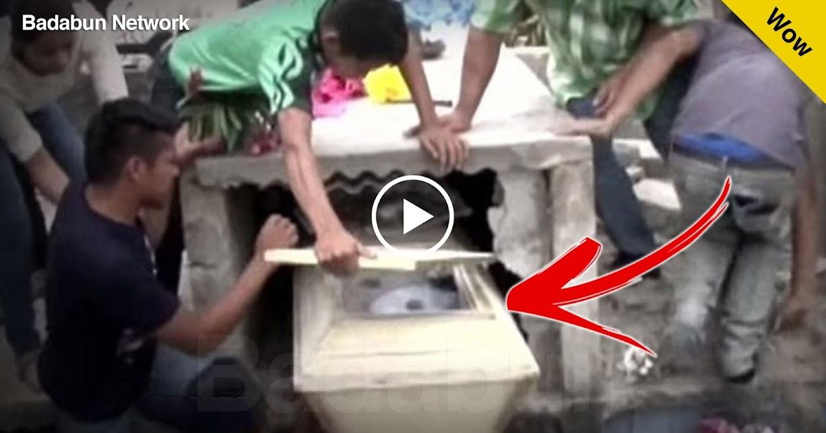 mujer viva tumba enterrada