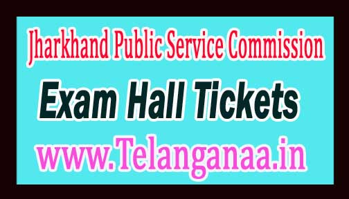 JPSC Civil Service (CCS) PT Exam Hall Tickets 2016