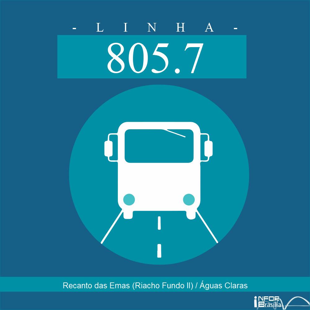 805.7 - Recanto das Emas (Riacho Fundo II)/Águas Claras
