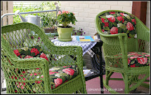 Quirky Outdoor Seating Ready
