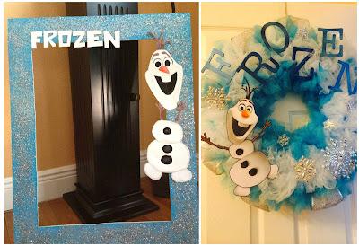 Ideas para una fiesta de frozen con olaf cositasconmesh for Elaboracion de adornos navidenos