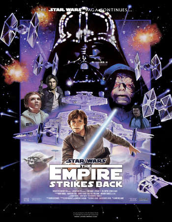 Star Wars: Episode V - The Empire Strikes Back 1980 Hindi Dual Audio BRRip Full Movie Download