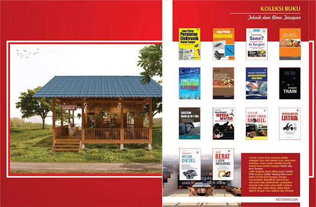 Buku Teknik dan Ilmu Terapan Untuk Perpustakaan Desa