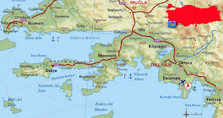 Image result for marmaris turunç haritası