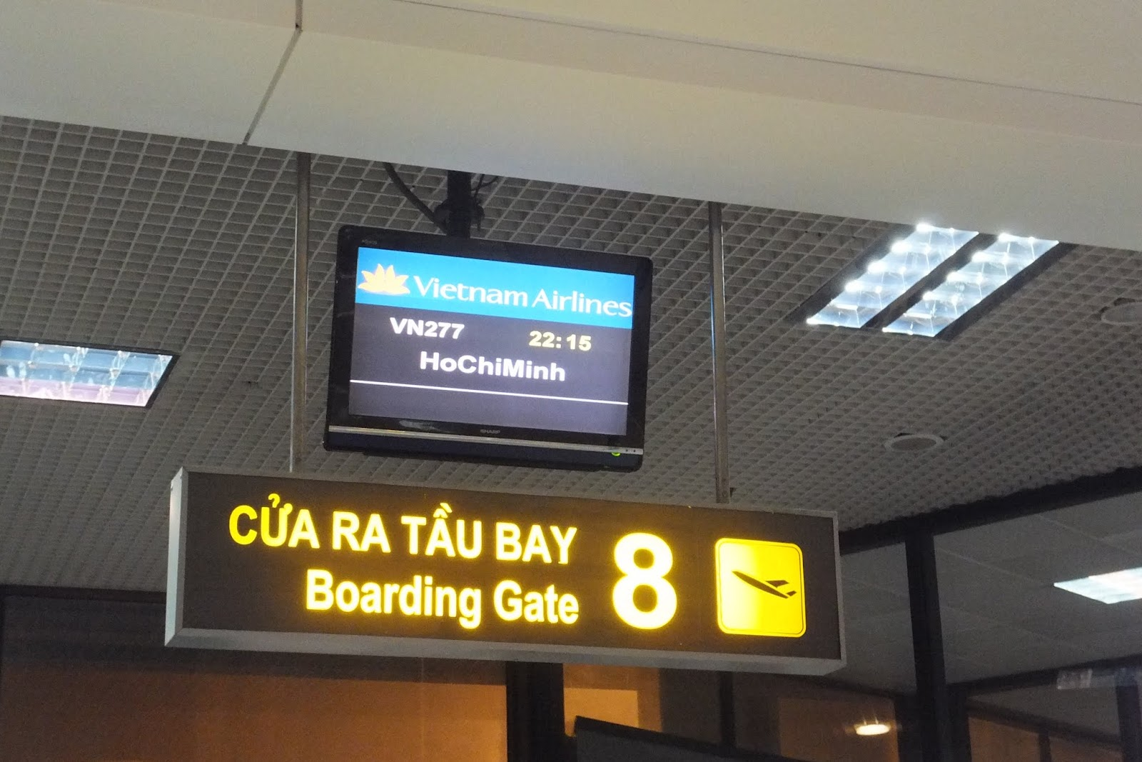 ベトナム航空表示板 Vietnamairlines-sign-board