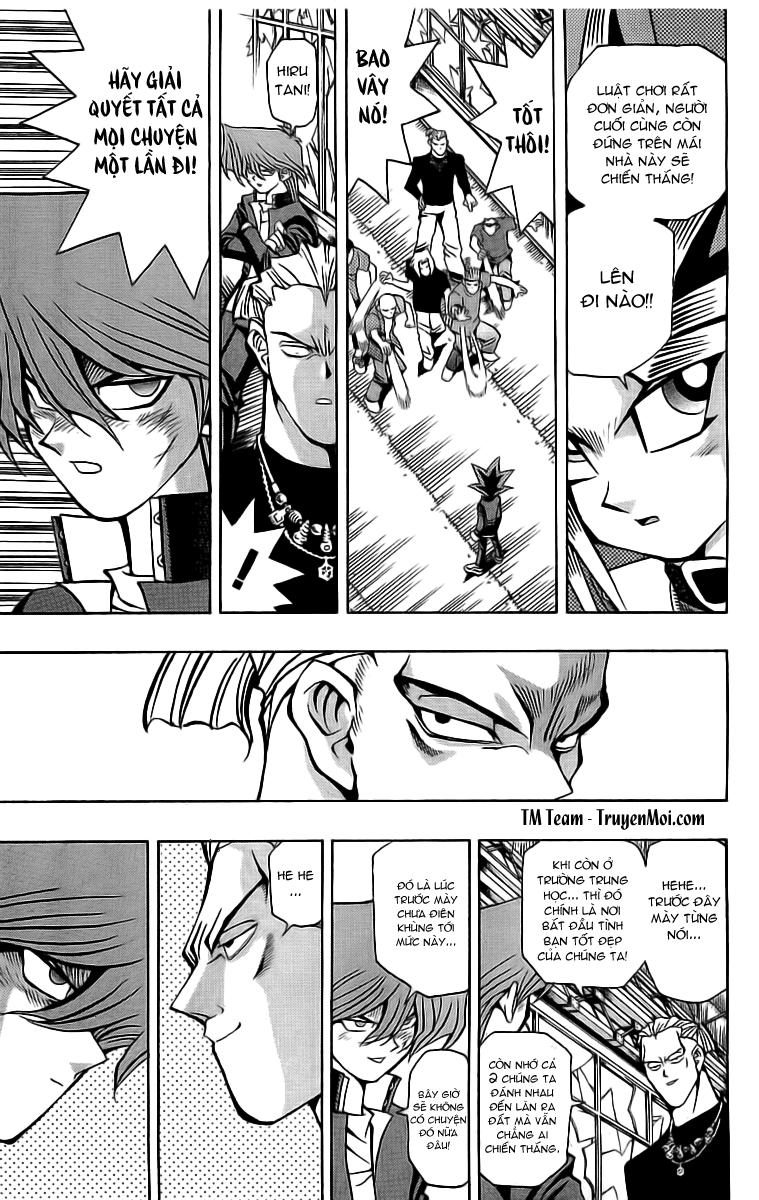 YUGI-OH! chap 49 - tiến lên jonouchi phần ii trang 11