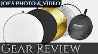 Neewer 43 Inch 5-In-1 Photography Lighting Reflector | Gear Review