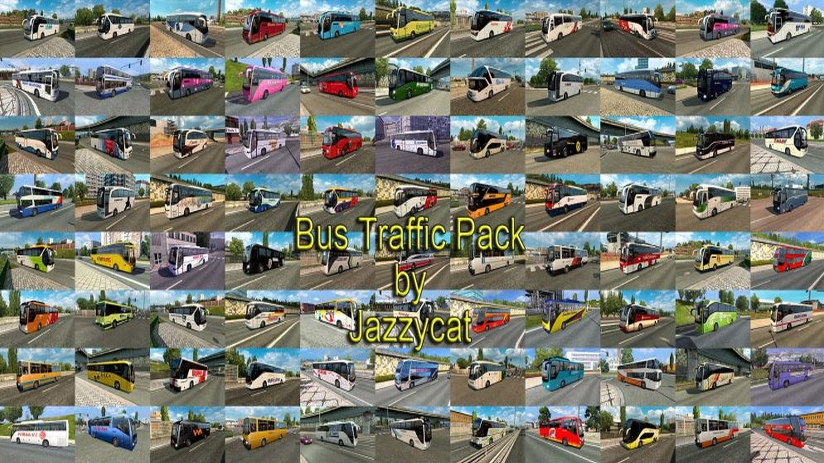 Jazzycat – Bus Traffic Pack 3.8