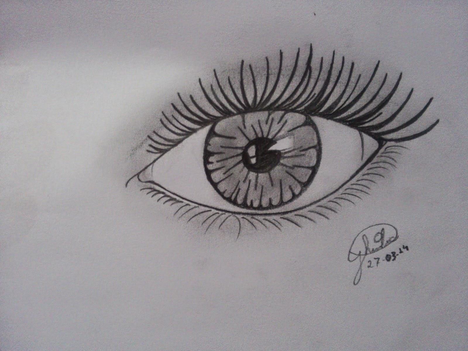 Ironias Da Caah Como Desenhar Olho