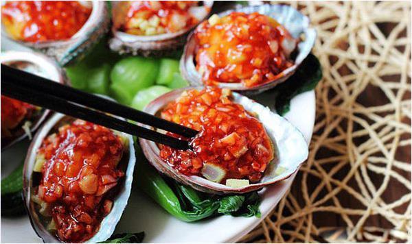 cách làm món Bào Ngư Úc Sốt chua cay