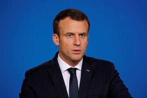 Popularidad de Emmanuel Macron cae un 43%