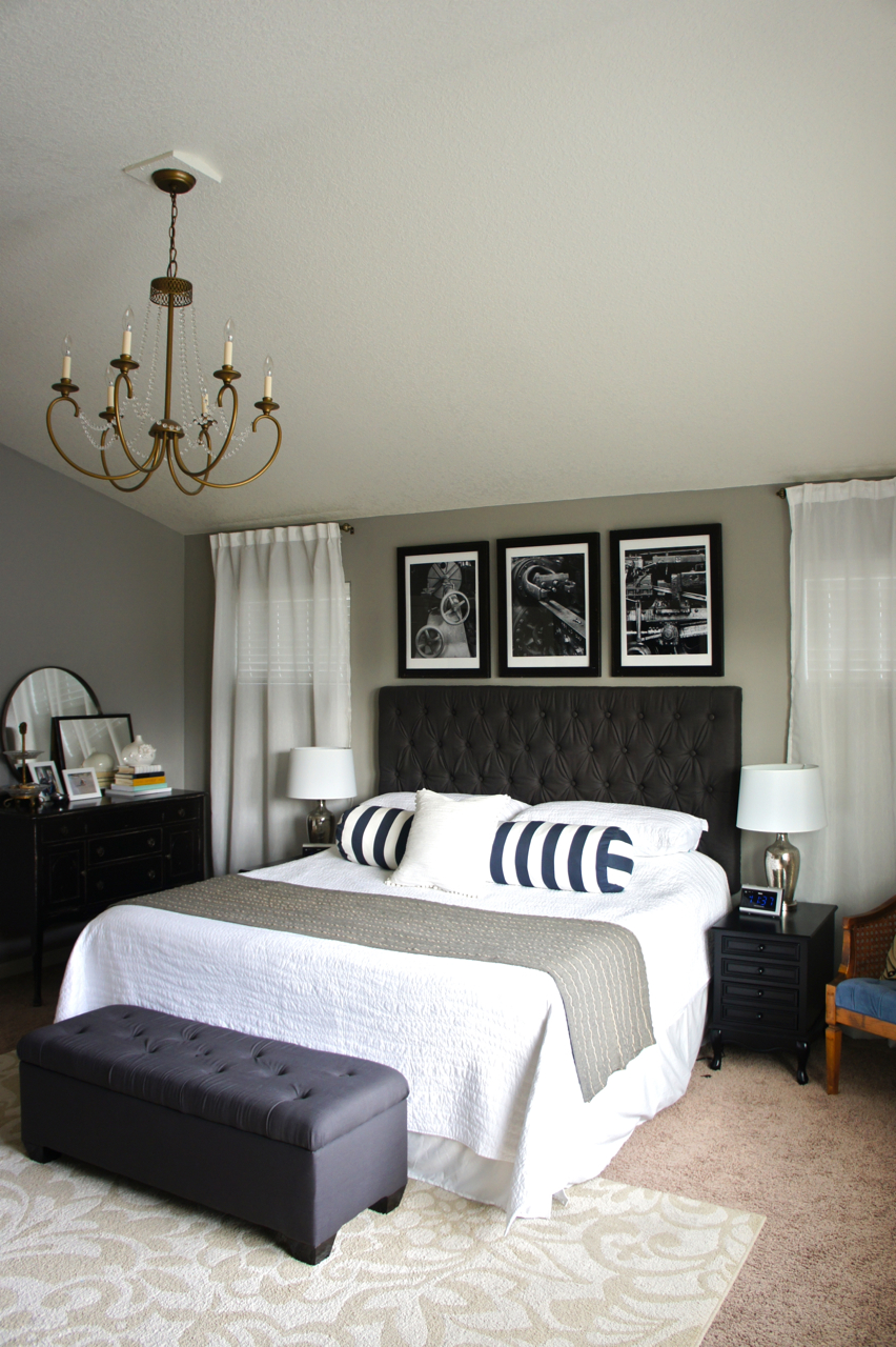 Pretty Dubs: MASTER BEDROOM TRANSFORMATION on Master Bedroom Curtain Ideas  id=40440