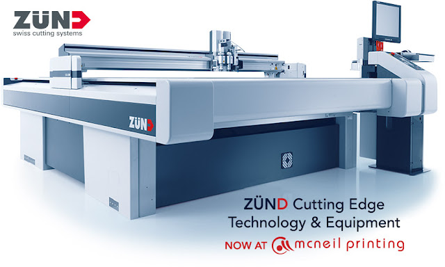 Zund Cutting System at McNeil Printing