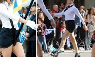 Παρέλαση 28η Οκτωβρίου: Σάλος με τις μiνι φούστες και την… πασαρέλα