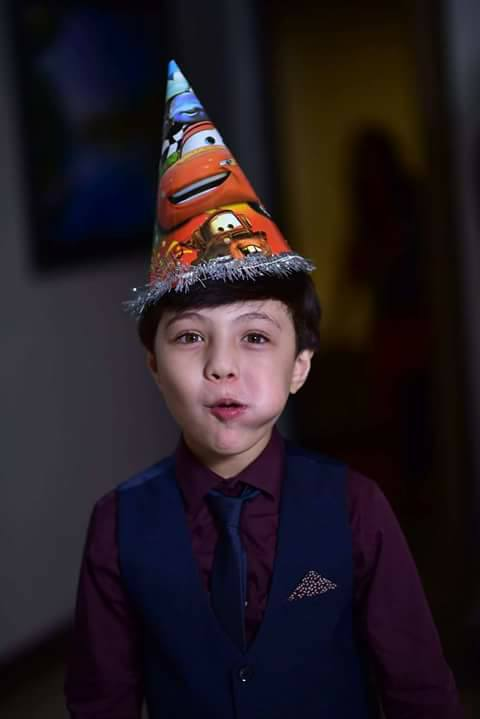 Iqrar ul Hassan son Pehlaaj hassan  Birth day celebration pics,