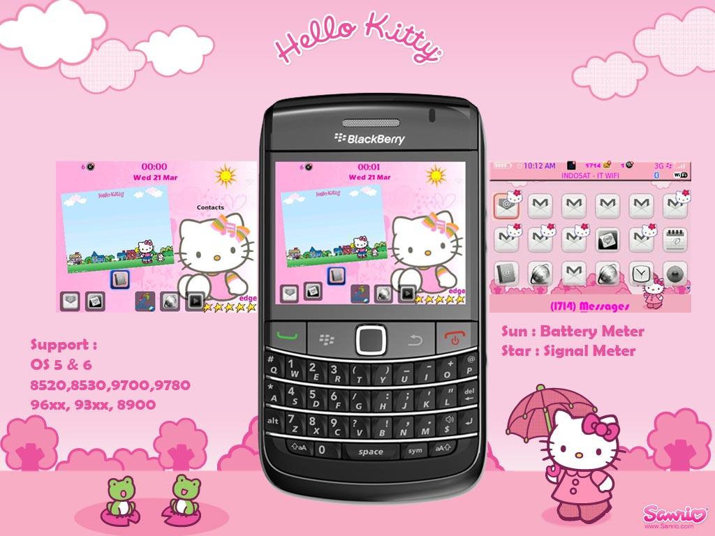 free hello kitty themes blackberry bold 9780