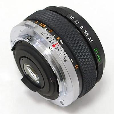 Olympus Zuiko OM 21mm F3.5