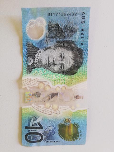 Australian 10 dollar note