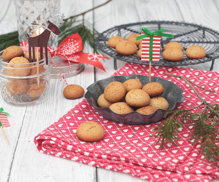 Pfeffernüsse Weihnachten Pebernødder Pebernodder Dänemark Plätzchen