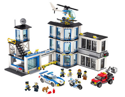 JUGUETES - LEGO City  60141 Estación de Policía  2017 | Piezas: 894 | Edad: 6-12 años  Comprar en Amazon España
