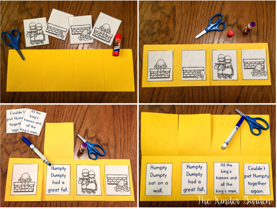 You Can Also Use Picture Cards To Help Students Sequence Events Together Then They Complete Their Own Version