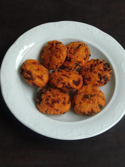 Masoordal & Onion Masal Vada