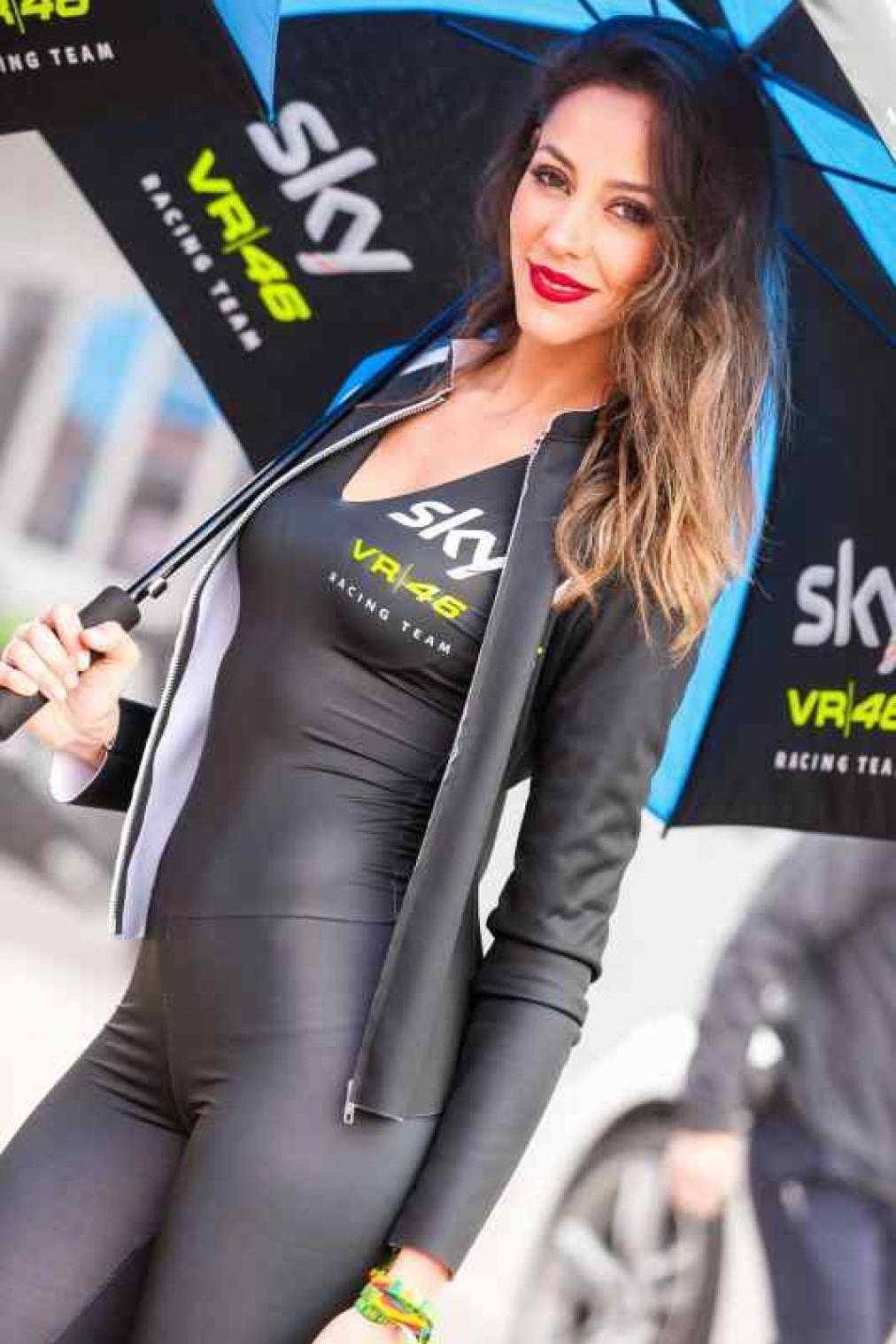 Beautiful & Hot Paddock Girls From Spain GP ! | Real Riders