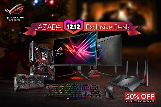 ROG and ASUS 12.12 Lazada Exclusive Deals
