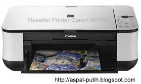 cara mereset printer canon mp287