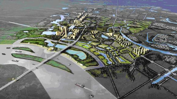 """Trục Nhật Tân - Nội Bài: Quy tụ bộ ba Vin, Sun, BRG tạo nên """"Siêu đô thị"""""""