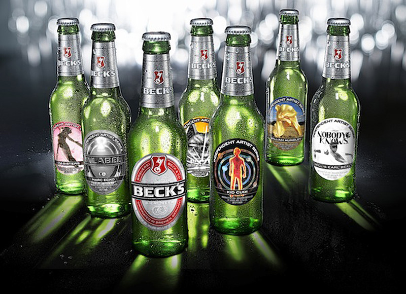 Beck's Beer 2013 Limited Edition Labels