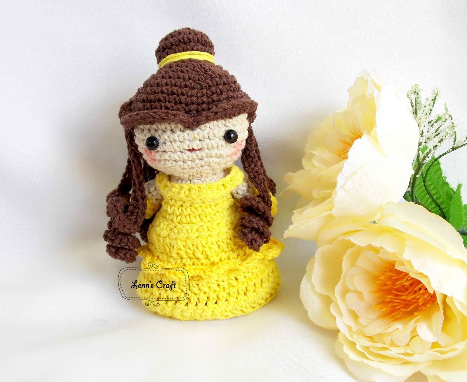 Amigurumi Doll Princess Tutorial & Pattern - YouTube   1308x1600