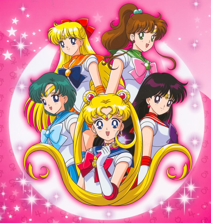 Gambar Kartun Jepang Sailormoon