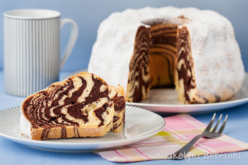Ciasto zebra jak zrobić paski