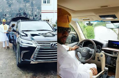 E-Money Buys The $90,000 2017 Lexus Lx 570 Fully Armored Car (Photos)