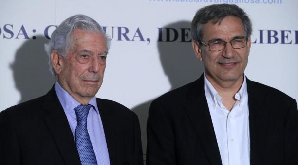 Vargas Llosa y Pamuk