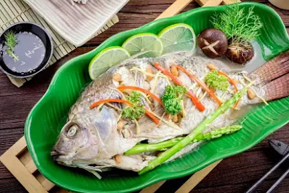 Resep Ikan Kukus Saus Tiram