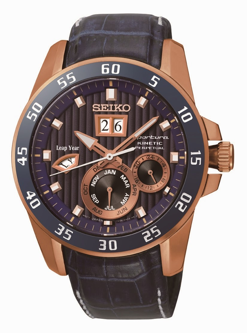 SEIKO KINETIC PREMIER PERPETUAL SNP064P1 SPECIAL EDITION