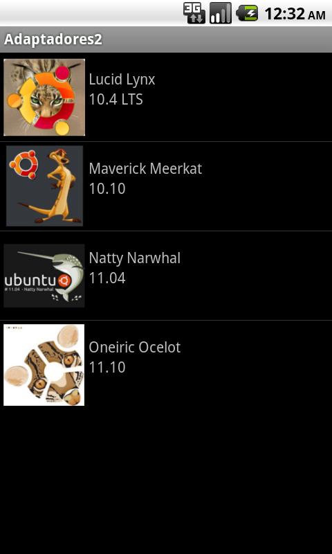 Adaptadores en Android