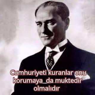 atatürk sözleri 2017 cumhuriyet bayramı capsler mesajları