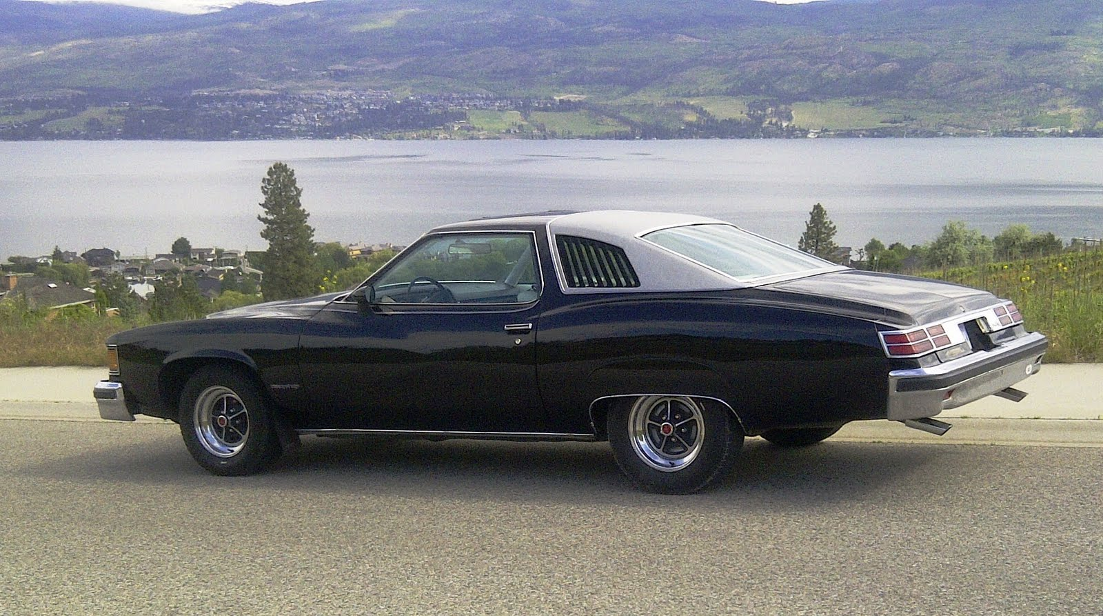 Pontiac Lemans Sport Coupe: Fender skirts added to 1976 ...