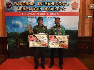 Kodim Klaten Raih 2 Tropy Karya Jurnalistik TMMD 96/2016