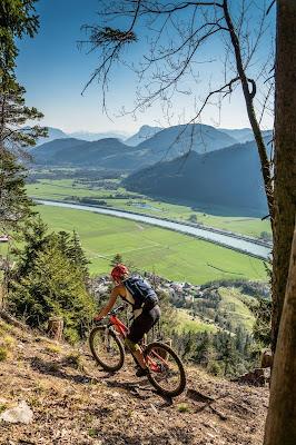 Biketour mega Panorama im Inntal