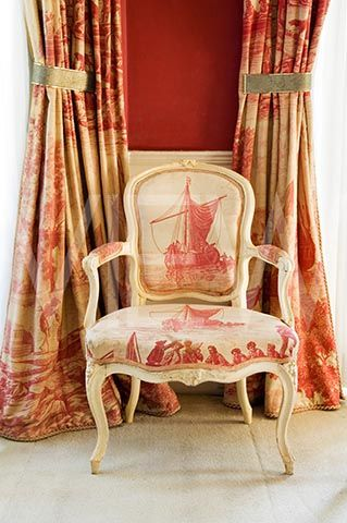Eye For Design Decorating With Red Toile