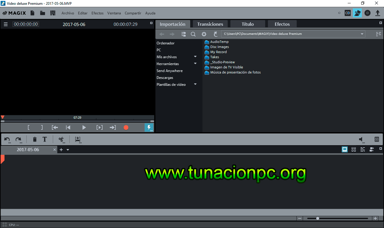 MAGIX Movie Edit Pro Imagen