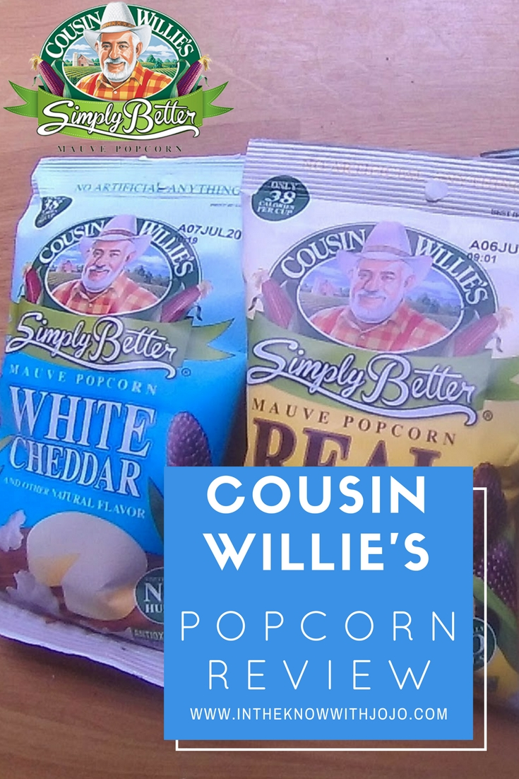 The best thing to have on movie night is a #CousinWillies #Popcorn!