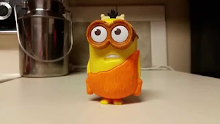 mcd minion toy swearing video