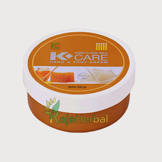 K-Care Honey and Goats Milk Hand & Foot Cream