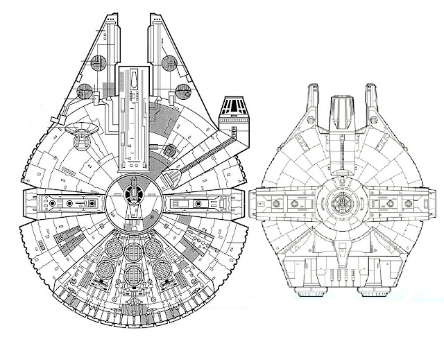 GATTACA MODELS AND PROPS: YT-1000 Corellian Freighter
