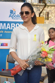 Actress Rakul Preet Singh at Endometriosis Awareness Walk at Apollo Cradle  0045.jpg